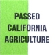 Passed California Agriculture