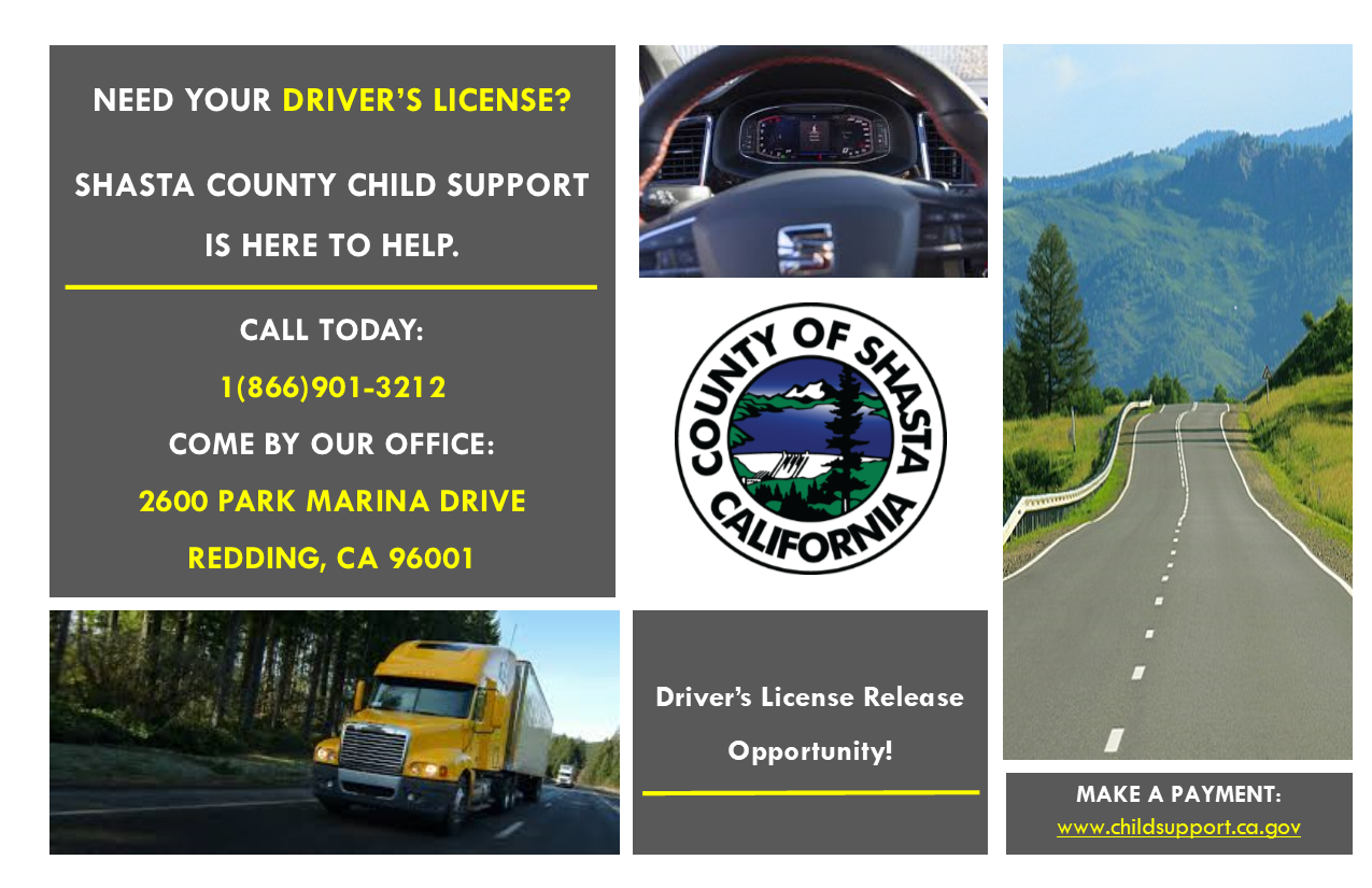 License Release Postcard Image
