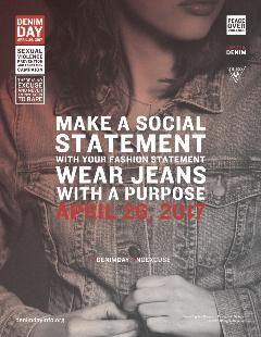 Denim Day Campaign Poster 2017