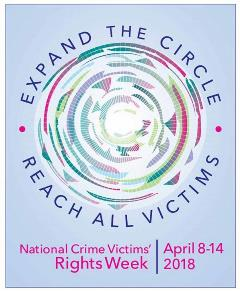 National Crime Victims' Rights Week 2018