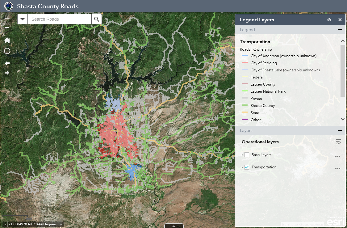 Shasta County Parcel Map Shasta County GIS