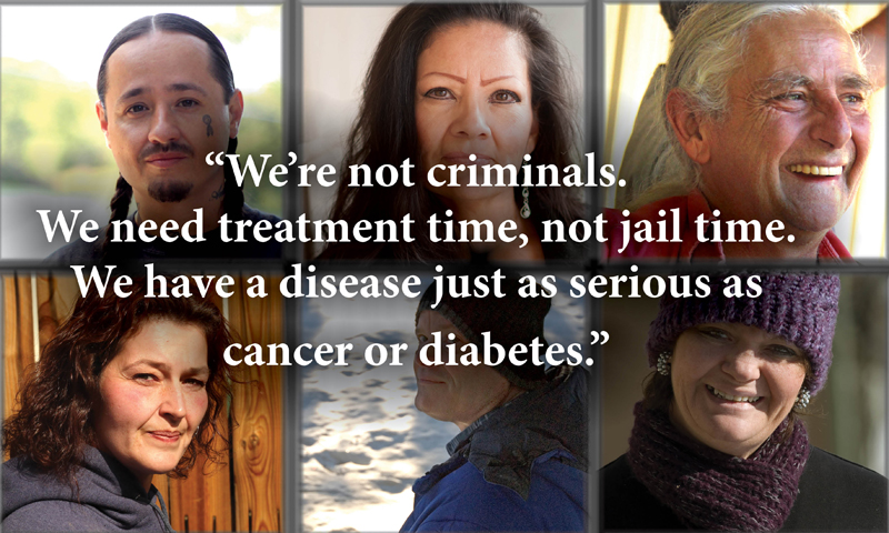 We need treatment time, not jail time.