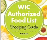 Authorized food list