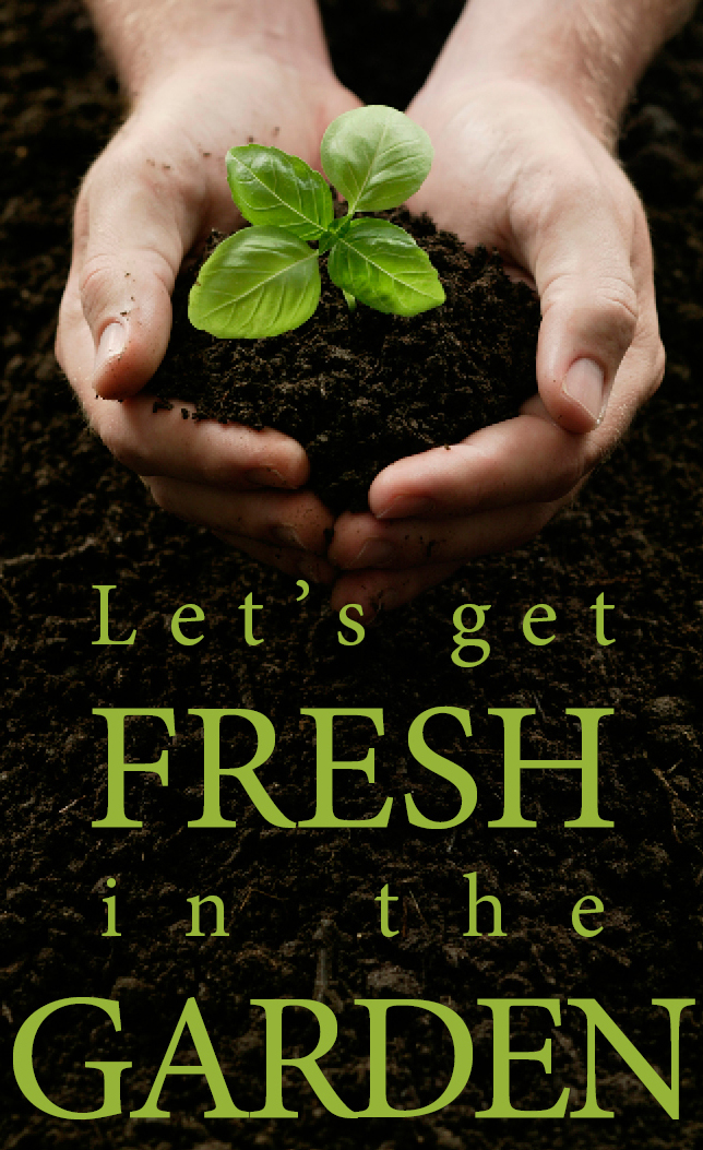 Get fresh in the garden logo