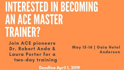 Join ACE pioneers Dr. Robert Anda & Laura Porter for a two-day training