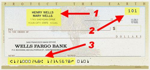how to write a wells fargo check I'm at the point where i need to reorder some checks i still use them for rent and large transfers i bank with wells fargo i looked.