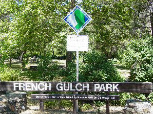 French Gulch Park Sign