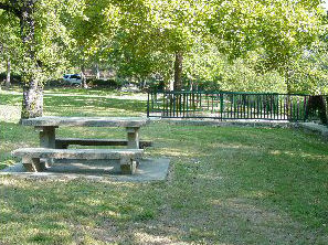 Picnic Table at French Gulch Park